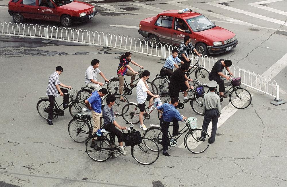 Pékin , près de Chaoyangmen, Août 2002.
