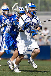 06 May 2007: Duke Blue Devils defenseman Chris Tkac (3) during a 19-6 victory over the Air Force Falcons at Koskinen Stadium in Durham, NC.