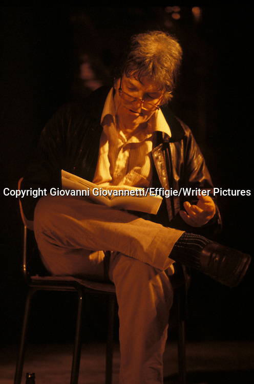 Gregory Corso <br /> <br /> <br /> 04/04/2005<br /> Copyright Giovanni Giovannetti/Effigie/Writer Pictures<br /> NO ITALY, NO AGENCY SALES