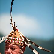 Hla'lalua headman, Annual Bunun Ear Festival, Maya village, Ming Chuan, Namasiya Township, Kaoshiung County, Taiwan