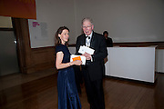 LADY SARAH CHATTO; LEN MCCOMB, Annual Dinner. Royal Academy of Arts. Piccadilly. London. 8 June 2010. -DO NOT ARCHIVE-© Copyright Photograph by Dafydd Jones. 248 Clapham Rd. London SW9 0PZ. Tel 0207 820 0771. www.dafjones.com.
