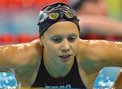 04-04-2015 NED: Swim Cup, Eindhoven<br /> Boglarka Kapas HUN, 400m freestyle<br /> Photo by Ronald Hoogendoorn / Sportida