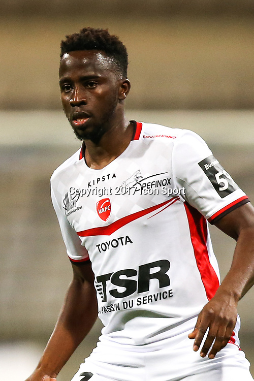 Sigamary Diarra during the Ligue 2 match between Paris Fc and Valenciennes at Stade Charlety on October 20, 2017 in Paris, France. (Photo by Anthony Massardi/Icon Sport )