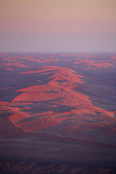 NAMIBIA SESSRIEM 21APR14 - Aerial view of the Sossusvlei after sunrise, with the surrounding Namib desert.<br /> <br /> Sossusvlei is a salt and clay pan surrounded by high red dunes, located in the southern part of the Namib Desert, in the Namib-Naukluft National Park, which is one of the major visitor attractions of Namibia.<br /> <br /> jre/Photo by Jiri Rezac<br /> <br /> © Jiri Rezac 2014