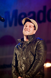 Meadowhall Sheffield Christmas Lights Concert Tinchy Stryder - Vanquish - Sam Clark (Ringo from Neighbours) - Girls Next Door - Encore - Six D - Cover Drive -Ronan Parke - Xfactor 2010 Winner Matt Cardle.3 November 2011. Image © Paul David DrabbleX-factor 2010 Winner Matt Cardle tops the bill at Meadowhalls Christmas lights switch on concert in Sheffield on Thursday evening 3 November 2011. Image © Paul David Drabble