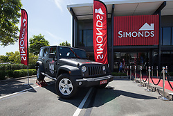 Simonds Homes Jeep Giveaway 2017. Photo: Jon W / Event Photos Australia