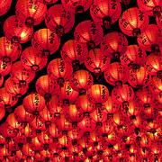 Mazu Temple Lanterns, Chijin Island Tian Hou Gong, Kaohsiung City, Taiwan