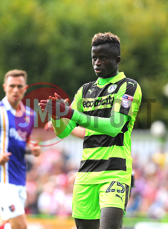 Toni Gomes of Forest Green Rovers-Mandatory by-line: Nizaam Jones/JMP - 09/09/2017 - FOOTBALL - New Lawn Stadium - Nailsworth, England - Forest Green Rovers v Exeter City - Sky Bet League Two