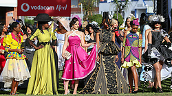 Durban. 070718. Fashion Theme for the 2018 Vodacom Durban July. - It Is Time - Every year a new theme is released to get the creative juices of the visitors and fashion desighners flowing. Picture Leon Lestrade. African News Agency/ANA.