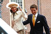 His highness prince Pieter-Christiaan of Oranje Nassau, of Vollenhoven and Ms drs. A.T. van Eijk get married Thursday 25 augusts in Palace the Loo in apeldoorn.<br /> <br /> <br /> Zijne Hoogheid Prins Pieter-Christiaan van Oranje-Nassau, van Vollenhoven en mevrouw drs. A.T. van Eijk treden donderdag 25 augustus in Paleis Het Loo te Apeldoorn in het huwelijk. <br /> <br /> On the photo/Op de foto:<br /> <br /> <br /> Zijne Hoogheid Prins Floris van Oranje-Nassau, van Vollenhoven  Mevrouw mr. A.L.A.M. S&ouml;hngen