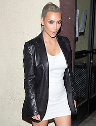 Kim Kardashian and husband Kanye West were seen leaving Kim's 37th Birthday Family and friends dinner at the 'Carousel' Lebanese and Armenian Restaurant in Los Feliz, CA. 26 Oct 2017 Pictured: Kim Kardashian. Photo credit: MEGA TheMegaAgency.com +1 888 505 6342