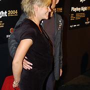 Playboy Night 2004, Liesbeth Kamerling en vriend Frans Pahlplatz