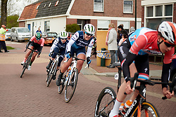 Lauretta Hanson (AUS) on the final lap at Healthy Ageing Tour 2019 - Stage 5, a 124.3 km road race in Midwolda, Netherlands on April 14, 2019. Photo by Sean Robinson/velofocus.com