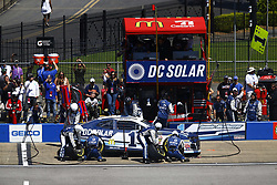 April 29, 2018 - Talladega, Alabama, United States of America - Jamie McMurray (1) brings his car down pit road for service during the GEICO 500 at Talladega Superspeedway in Talladega, Alabama. (Credit Image: © Chris Owens Asp Inc/ASP via ZUMA Wire)