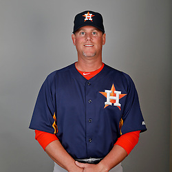 Feb 21, 2013; Kissimmee, FL, USA; Houston Astros hitting coach John Mallee (11) during photo day at Osceola County Stadium. Mandatory Credit: Derick E. Hingle-USA TODAY Sports