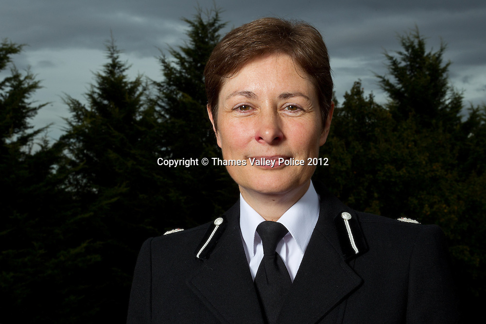 Portrait of Assistant Chief Constable Helen Ball of Thames Valley Police, who has recently received promotion to Deputy Assistant Commissioner in the Metropolitan Police with responsibility for policing in North London. Abingdon, UNITED KINGDOM. October 04 2012. <br /> Photo Credit: MDOC/Thames Valley Police<br /> &copy; Thames Valley Police 2012. All Rights Reserved. See instructions.