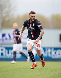 Falkirk&rsquo;s Lee Miller. <br /> Falkirk 1 v 0 Morton, Scottish Championship game  played 1/5/2016 at The Falkirk Stadium.