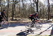 In Amerongen rijden wielrenners over de Amerongseberg.<br /> <br /> Cyclists at the Amerongseberg.