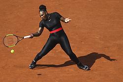May 29, 2018 - Paris, France, France - Serena Williams (usa) en combinaison (Credit Image: © Panoramic via ZUMA Press)