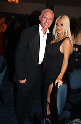 Footballer PAUL GASCOIGNE and model KATIE PRICE (Jordan)at the 2005 British Book Awards held at The Grosvenor House Hotel, Park lane, London on 20th April 2005.<br />