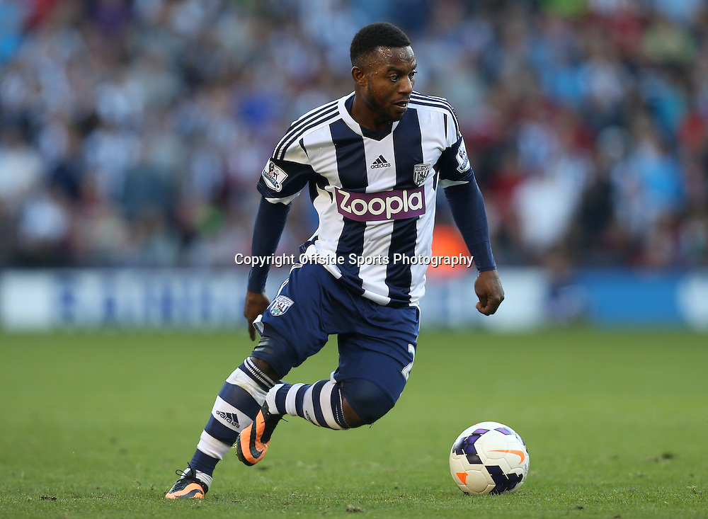 6th October 2013 - Barclays Premier League - West Bromwich Albion v Arsenal - Stephane Sessegnon of West Brom - Photo: Simon Stacpoole / Offside.