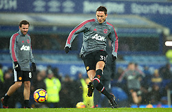 Nemanja Matic of Manchester United - Mandatory by-line: Robbie Stephenson/JMP - 01/01/2018 - FOOTBALL - Goodison Park - Liverpool, England - Everton v Manchester United - Premier League
