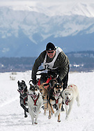 Photo by Barton Glasser.Dogsledding near Norwood, Colo.