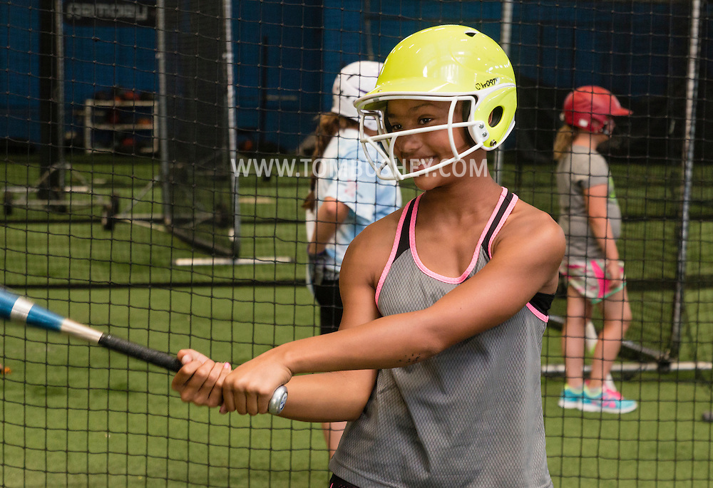 Chester, New York - Summer camp at Frozen Ropes Training Center on July 22, 2015.