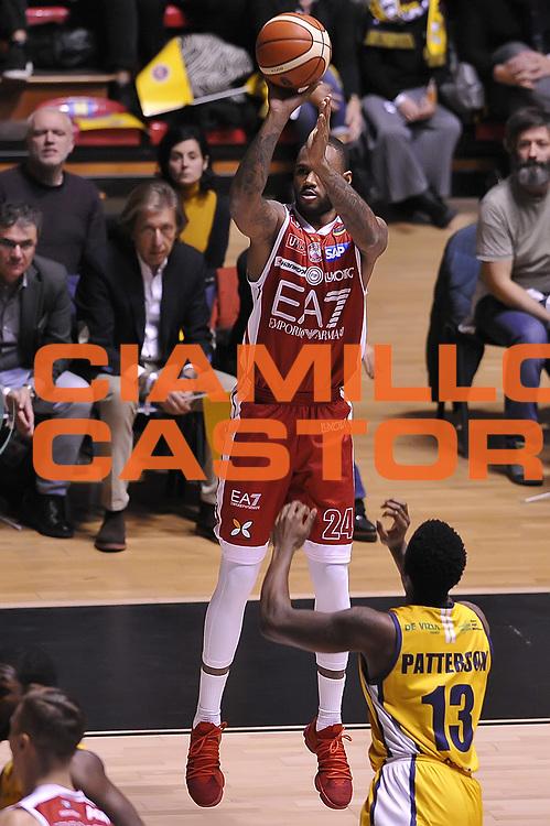 M Baye Amath<br /> Fiat Auxilium Torino - EA7 Emporio Armani Olimpia Milano <br /> LegaBasket 2017/2018<br /> Torino 10/12/2017<br /> Foto Ciamillo-Castoria