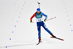 February 10, 2018 - Pyeongchang, South Korea - 180210 Marie Dorin Habert of France competes in Women's Biathlon 7,5 km Sprint during day one of the 2018 Winter Olympics on February 10, 2018 in Pyeongchang..Photo: Petter Arvidson / BILDBYRN / kod PA / 87614 (Credit Image: © Petter Arvidson/Bildbyran via ZUMA Press)