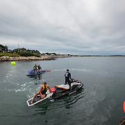 The Fifth Annual Waterman Eco-Challenge at the Narragansett Beach, , Rhode Island, USA, July17,2015.  Photo: Tripp Burman