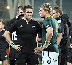 Dunedin-Rugby, International Championship, New Zealand v South Africa, September 15