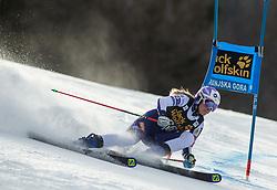 BUCIK Ana of Slovenia competes during the Ladies' GiantSlalom at 56th Golden Fox event at Audi FIS Ski World Cup 2019/20, on February 15, 2020 in Podkoren, Kranjska Gora, Slovenia. Photo by Matic Ritonja / Sportida