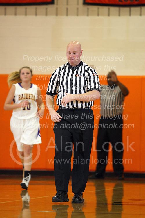 20 November 2012:  Intercity Girl's Basketball at Normal Community High School.  Bloomington High School Raiders v Normal Community Iron.