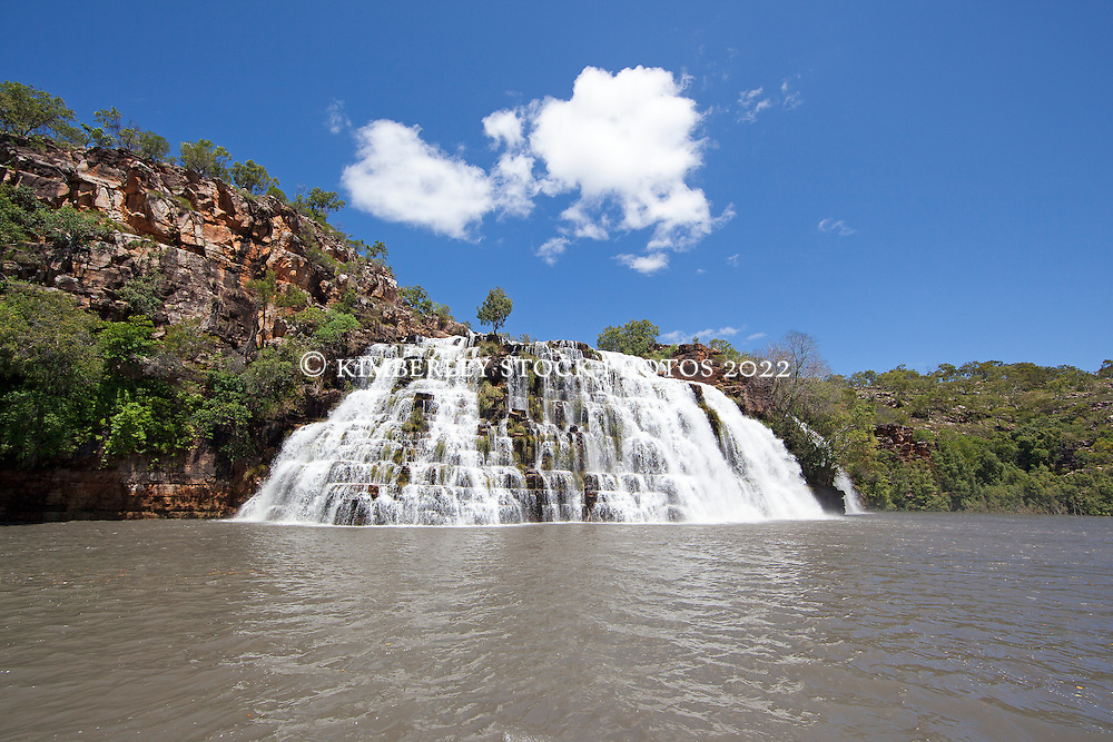 King's Cascades in the Prince Regent River in the Kimberley wet season