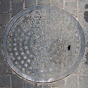 Tel Aviv, Israel A manhole cover from 1937.