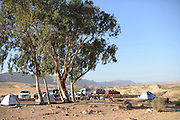 Camping out in the Negev Desert. photographed at HaMakhtesh HaGadol (The Big Crater) is a makhtesh, a geological erosional landform of Israel's Negev desert. It measures 5 x 10 km.