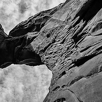 Arches National Park in Black and White from a recent Fall visit to the park.
