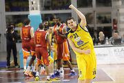 DESCRIZIONE : Ancona Lega A 2012-13 Sutor Montegranaro Acea Roma<br /> GIOCATORE : Valerio Amoroso<br /> CATEGORIA : esultanza scelta<br /> SQUADRA : Acea Roma Sutor Montegranaro<br /> EVENTO : Campionato Lega A 2012-2013 <br /> GARA : Sutor Montegranaro Acea Roma<br /> DATA : 13/01/2013<br /> SPORT : Pallacanestro <br /> AUTORE : Agenzia Ciamillo-Castoria/C.De Massis<br /> Galleria : Lega Basket A 2012-2013  <br /> Fotonotizia : Ancona Lega A 2012-13 Sutor Montegranaro Acea Roma<br /> Predefinita :