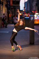 Streets of New York City Dance As Art Photography with dancer Ashley Whitson