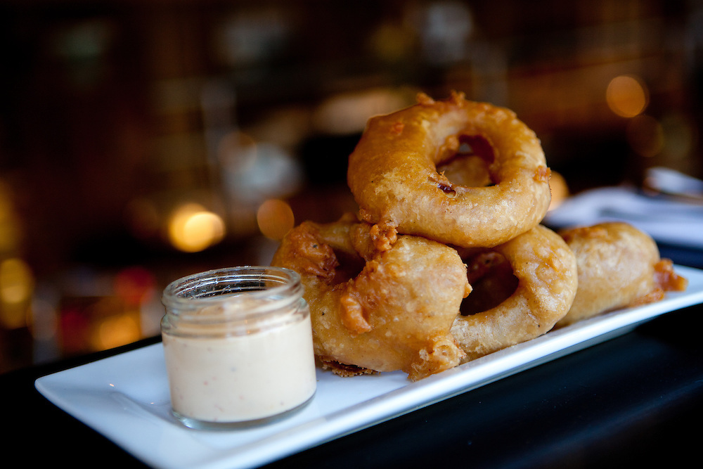 Onion Rings at Bailey's Range in downtown St. Louis.