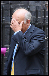 Vince Cable arriving at the Cabinet meeting in Downing Street, London , Wednesday, 5th September 2012  Photo by: Stephen Lock / i-Images