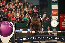 Whitaker William, (GBR), Fandango<br /> Longines FEI World Cup<br /> CSIO Leipzig 2016<br /> © Hippo Foto - Stefan Lafrentz