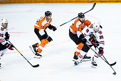 Michael Raffl of Philadelphia Flyers during NHL game between teams Chicago Blackhawks and Philadelphia Flyers at NHL Global Series in Prague, O2 arena on 4th of October 2019, Prague, Czech Republic. Photo by Grega Valancic / Sportida