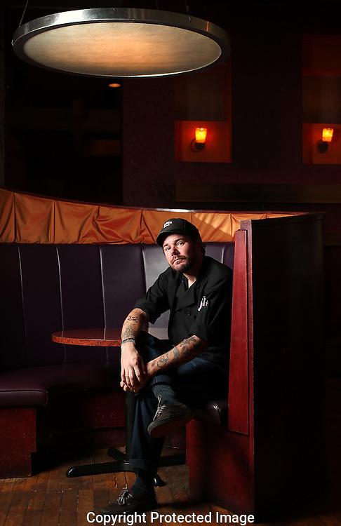 Burgundy Room chef Andrew Brannin.(Jodi Miller/Alive)