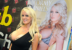 File picture of actress Stormy Daniels. Donald Trump denied 'paid porn star Stormy Daniels $130000 to hide affair'. Photo from Exxxotica event on October 7, 2013 in New York City, NY, USA. Photo by Dennis Van Tine/ABACAPRESS.COM