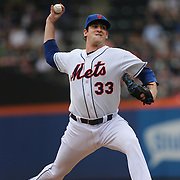 Matt Harvey, the New York Mets pitcher in action during the New York Mets V Cincinnati Reds Baseball game at Citi Field, Queens, New York. 22nd May 2012. Photo Tim Clayton