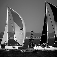 Cowes Week, 2016, Black and White Pictures, Isle of Wight, England, photograph photography