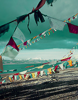 Prayer Flags by Lake