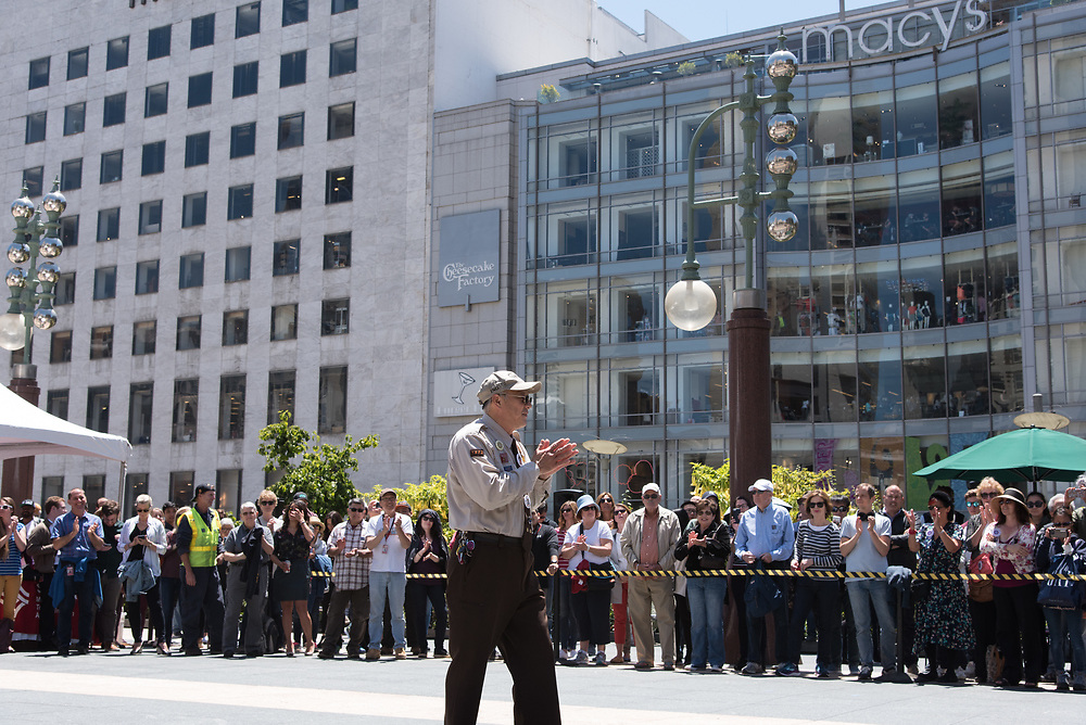 Joseph Sue Performing at the 54th Annual Cable Car Bell Ringing Contest | July 13, 2017